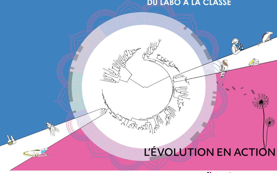 """Publication de l'ouvrage collaboratif """"L'Evolution en action"""""""